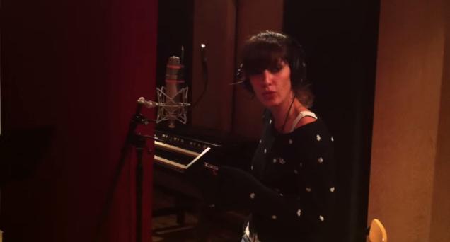 Jenn en studio