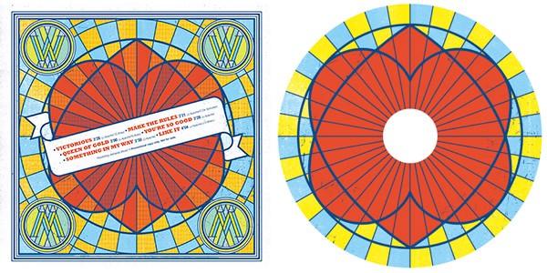 L'artwork de Wonderama, où l'on peut voir la tracklist intégrale