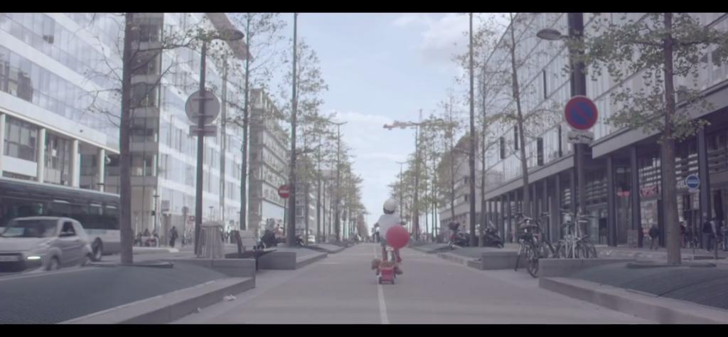 Capture d'écran du clip