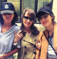 Sandra, Jenn et Chantal au Charity Day @sandraandcoparis