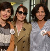 Jenn, Chantal et Sandra au Charity Day © Best Images